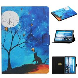 FORCELL LEATHER Zaklápací obal Lenovo Tab M10 (X605F/X505L) MOONLIGHT