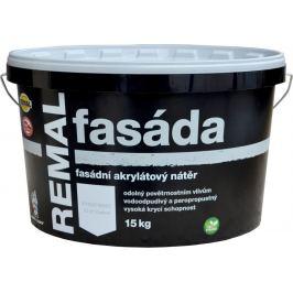 BARVY A LAKY TELURIA, s. r.o. REMAL FASADA - fasádna farba - biela - 7,5 Kg