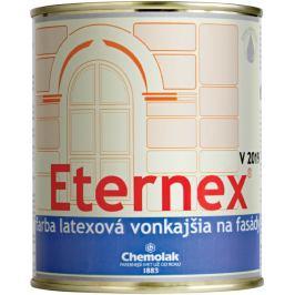 Chemolak V 2019 Eternex - latexová farba vonkajšia - 0111 - sivá - 0,8 L
