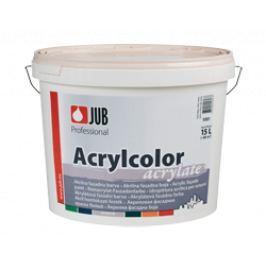JUB ACRYLCOLOR - akrylátová fasádna farba - čierna - 1500 - 0,75 L