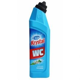 Cleamen KRYSTAL WC kyslý na keramiku, modrý  - 0,75 L