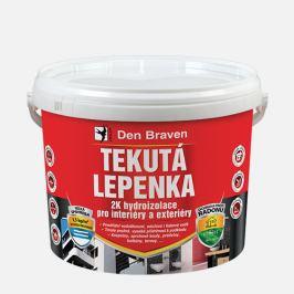 Den Braven Tekutá lepenka 2K hydroizolácia - šedá - 14 kg