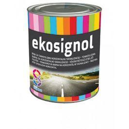 Chromos-Svjetlost Ekosignol - farba na vodorovné dopravné značenie  - biely - 18 L