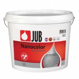 JUB NANOCOLOR - samočistiaca silikónová fasádna farba - biely - 15 l