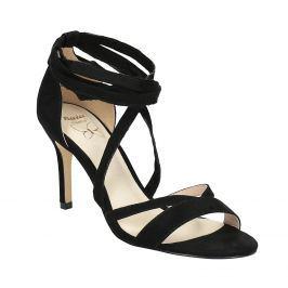 Dámske šnurovacie sandále na podpätku