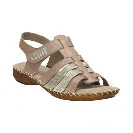 Kožené sandále šírky H