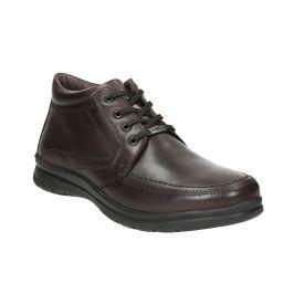 Kožená pánska zimná obuv