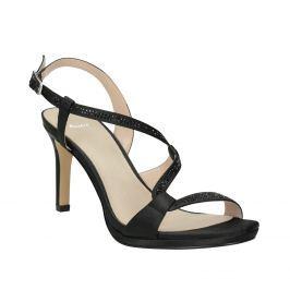 Dámske spoločenské sandále s kamienkami