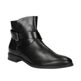 Kožená členková obuv s prackou