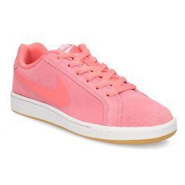 Kožené ružové dámske tenisky