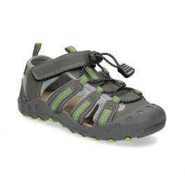 Detské sandále s plnou špičkou