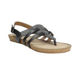 Korkové sandále s hadím vzorom