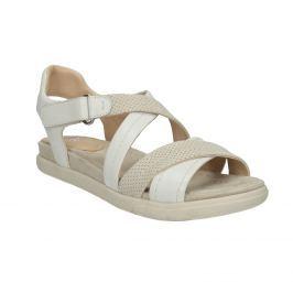Kožené dámske sandále