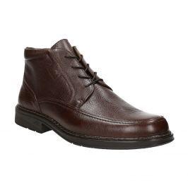 Kožená členková obuv