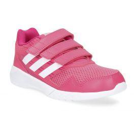 Ružové tenisky na suchý zips