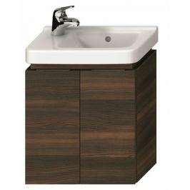Kúpeľňová skrinka pod umývadlo Jika Cubito 45x42,1x48 cm v dekore tmavej borovice H40J4202004611