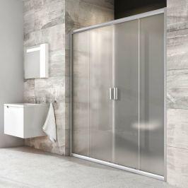 Sprchové dvere 140x190 cm Ravak Blix chróm matný 0YVM0U00ZG