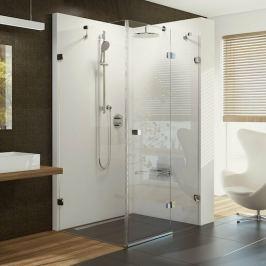 Sprchový kút Ravak Brilliant štvorec 90 cm, sklo číre, chróm profil, pravé BSDPS90TCRP
