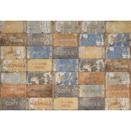 Dlažba Cir Havana cuba libre mix 10x20 cm, mat HAV12CLM