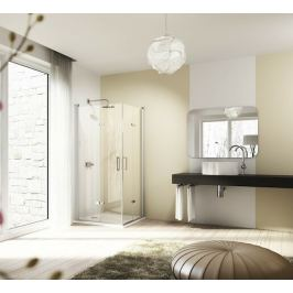 Sprchové dvere Huppe 501 Design Elegance jednokrídlové 100 cm, sklo číre, chróm profil, pravé 8E0905.092.322