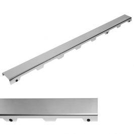 Rošt steel 100 cm Tece Drainline nerez mat 601083