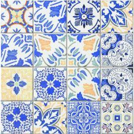Dlažba Realonda Medes blue 44x44 cm mat MEDES