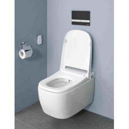 Závesné WC s bidetom Vitra V Care, zadný odpad, 60cm VCARECOMFORT
