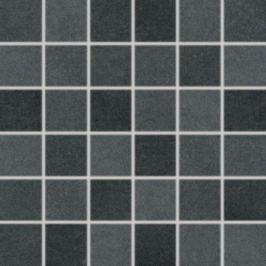 Mozaika Rako Extra čierna 30x30 cm mat DDM06725.1