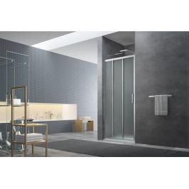 Sprchové dvere Siko Tex posuvné 80 cm, nepriehľadné sklo, chróm profil, univerzálny SIKOTEXE80CRG