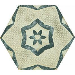 Dlažba Ragno eden cotone dekor tappeto 2 21x18,2 cm, mat ERF8R