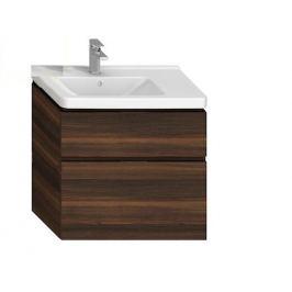 Kúpeľňová skrinka pod umývadlo Jika Cubito 74x42,6x68,3 cm v dekore tmavej borovice H40J4254044611