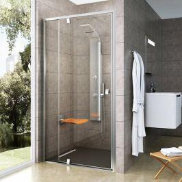 Sprchové dvere 120x190 cm Ravak Pivot chróm matný 03GG0U00Z1