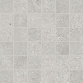Mozaika Rako Base R svetlo šedá 30x30 cm mat DDM06432.1
