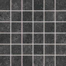 Mozaika Rako Base R čierna 30x30 cm mat DDM06433.1