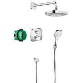 Sprchová batéria Hansgrohe Ecostat vrátane podomietkového telesa chróm 27294000