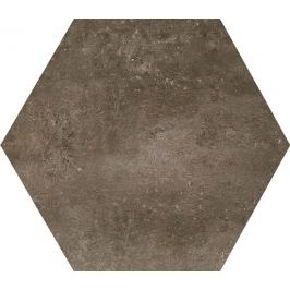Dlažba Dom Approach brown 35x40 cm mat DAH60EA