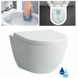 Závesné WC Laufen Laufen Pro, zadný odpad, 53cm 2096.6.000.000.1