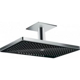 Hlavová sprcha Hansgrohe Rainmaker Select bez podomietkového telesa čierna/chróm 24006600