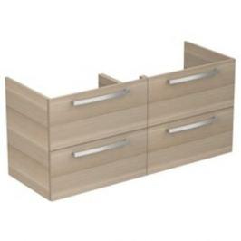 Kúpeľňová skrinka pod umývadlo Ideal Standard Tempo 120x44x55 cm v prevedení dub pieskový E0539OS