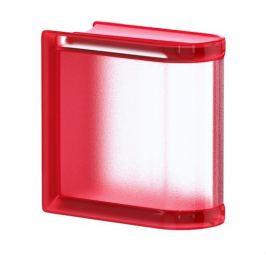 Luxfera Glassblocks MiniGlass červená 15x15x8 cm sklo MGSLECHE