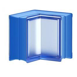 Luxfera Glassblocks MiniGlass modrá 15x15x8 cm sklo MGSCORBLU