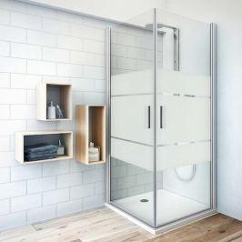 Sprchové dvere 120x201,2 cm Roth Tower Line chróm matný 727-1200000-01-20