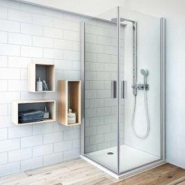 Sprchové dvere 110x201,2 cm Roth Tower Line chróm lesklý 727-1100000-00-02