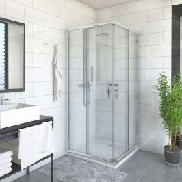 Sprchové dvere 100x200 cm levá Roth Proxima Line chróm lesklý 528-1000000-00-02