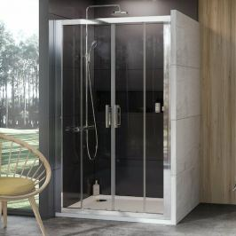 Sprchové dvere 190x190 cm Ravak 10° chróm lesklý 0ZKL0C00Z1