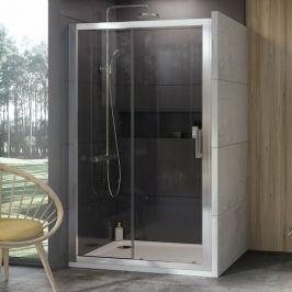 Sprchový kút 100x190 cm Ravak 10° chróm matný 0ZVA0U00Z1