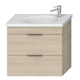 Kúpeľňová skrinka pod umývadlo Jika Tigo N 77x36,3x70,5 cm v dekore jaseň H40J2154015141