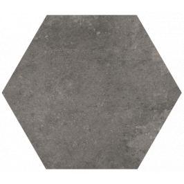 Dlažba Vitra Ash and Burn burn hexagon 21x24 cm, mat K946076