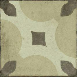 Dlažba Ragno Ottocento ambra decoro tap 6 20x20 cm mat OTR86W
