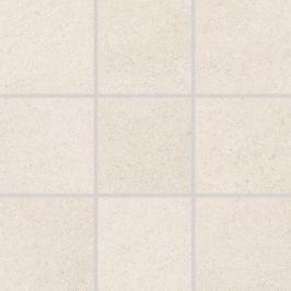 Dlažba Rako Kaamos slonová kosť 10x10 cm, protišmyk, rektifikovaná DAK12585.1
